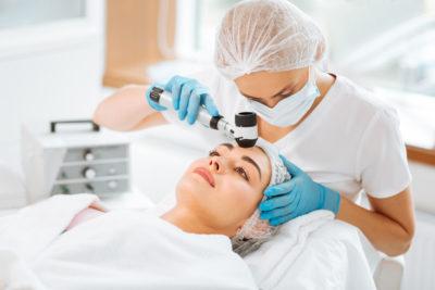 Dermatoskopija, odstranjevanje znamenj