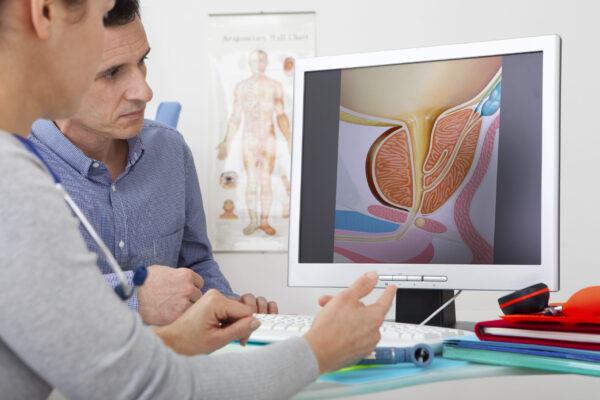 urološki posvet, pogovor med pacientom in urologom